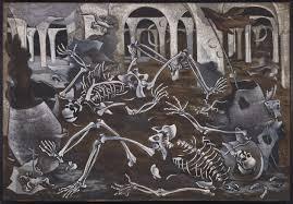 """Maruja Mallo. """"Antro de fósiles""""."""