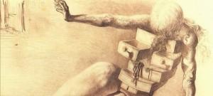 """Salvador Dalí. """"El escritorio antropomórfico""""."""