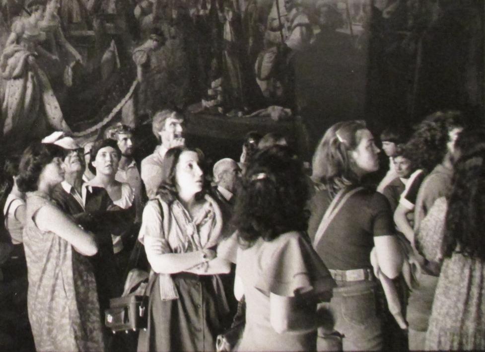 """Zimmermann, M. """"Museo del Louvre """", 1980 (detalle)"""