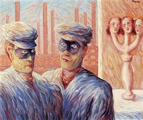 Rene Magritte - Inteligencia - 1946