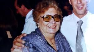 Josefa en el casamiento de su sobrino-nieto. Gentileza de Raúl Kallinger.