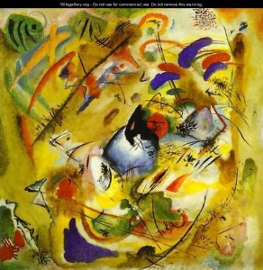 Dreamy improvisation - Vassily Kandinsky