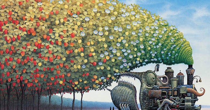 "Yasek Yerka. ""Strawberry  Railway""."