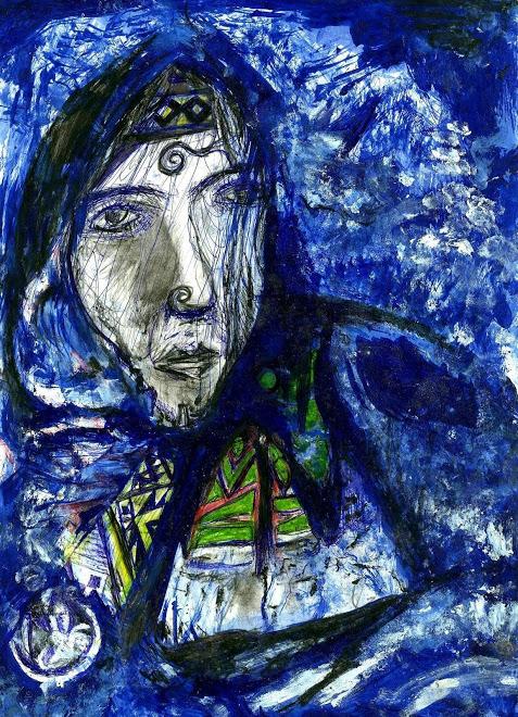 Juan Carrilaf, dibujo.