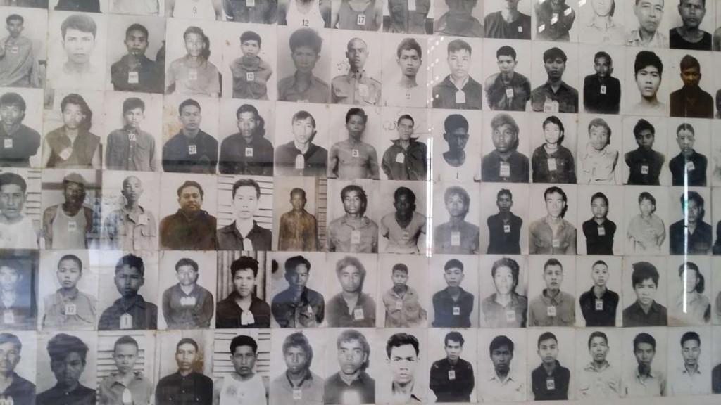Asesinados documentados por los propios Khmer Rouge