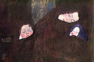 """Gustav Klimt. """"La familia""""."""