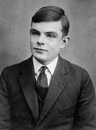 Foto del pasaporte de Alan Turing a los 16 años
