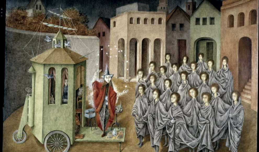 "Remedios Varo. ""Cinco llaves del mundo secreto."""