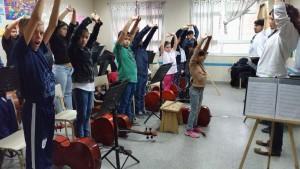 En la Orquesta Escuela Berisso