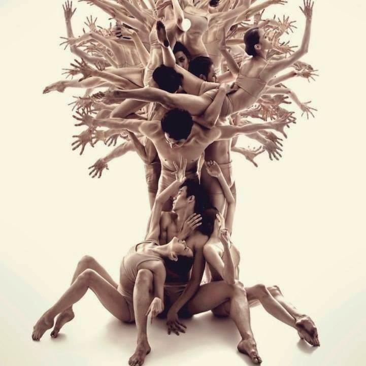 """Bailarines. """"El árbol de la vida""""."""