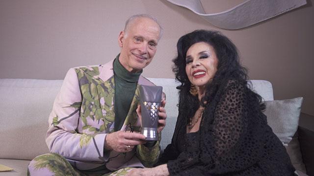 Isabel Sarli y John Waters