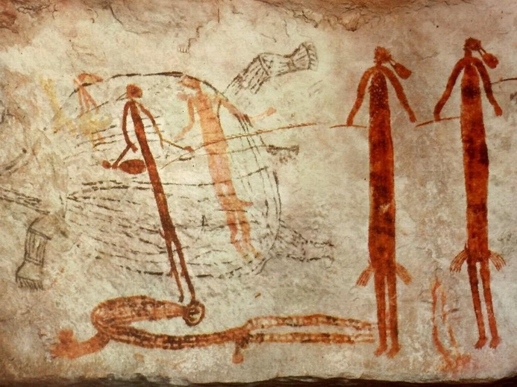 Pinturas australianas - Aborigenes