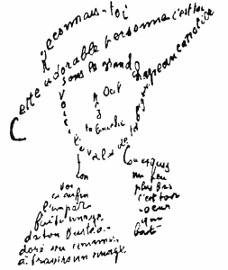 Calligramme, Guillaume Apollinaire