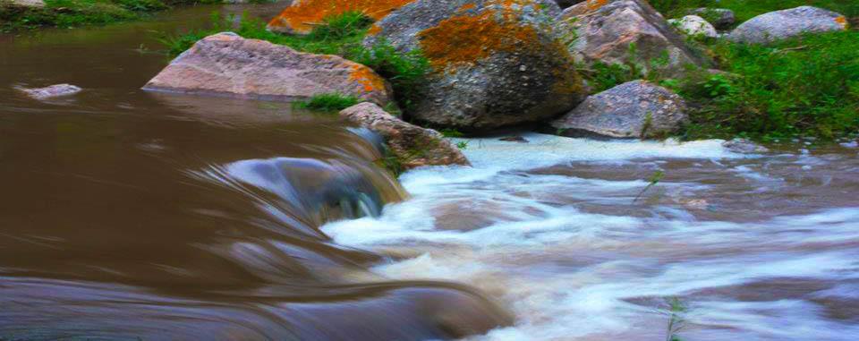 piedra y rio