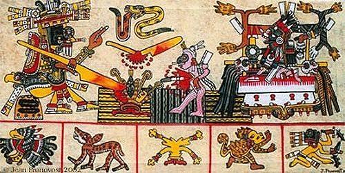 El inframundo prehispánico mexicano.