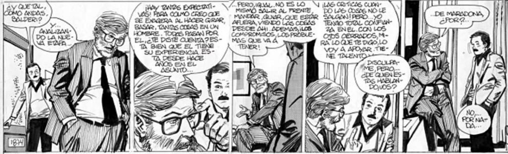 """Horacio Altuna. """"El loco Chavez""""."""