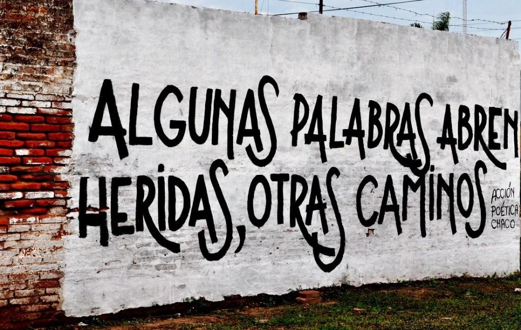 Acción poética Chaco.