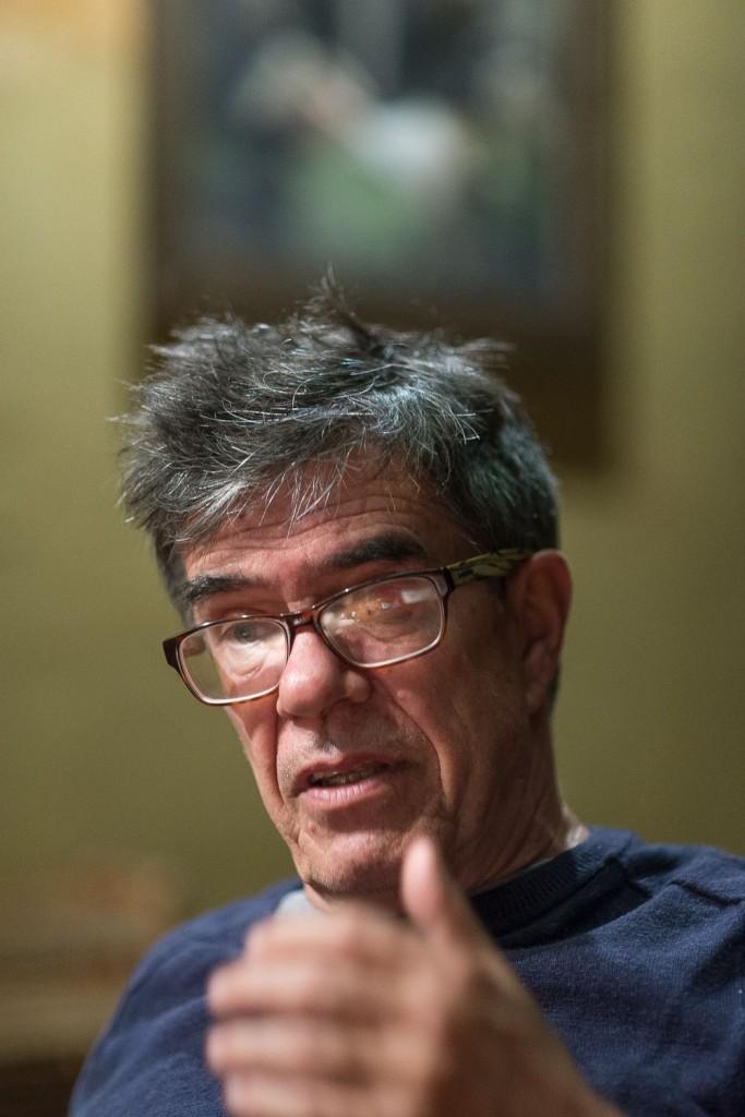 Ricardo Bartís. Fotografía: Diego Grispo.