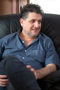 Luis Federico Arias. Fotografía: Diego Grispo.