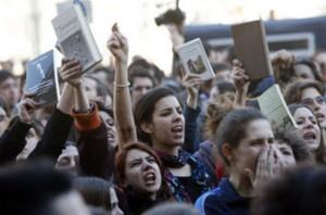Manifestacion d-estudiante
