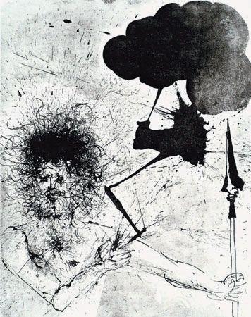 "Salvador Dalí. ""Júpiter (Zeus)."""