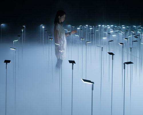 Infuse OLED-Installation by Chikara Ohno. Sinato designboom