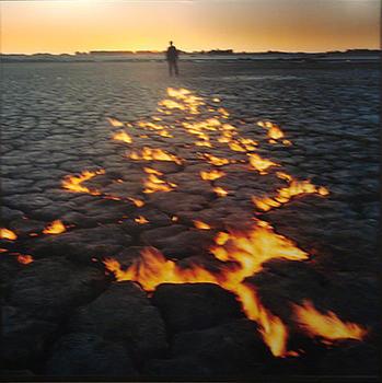 """Juan Doffo. De la serie """"Río de fuego."""""""