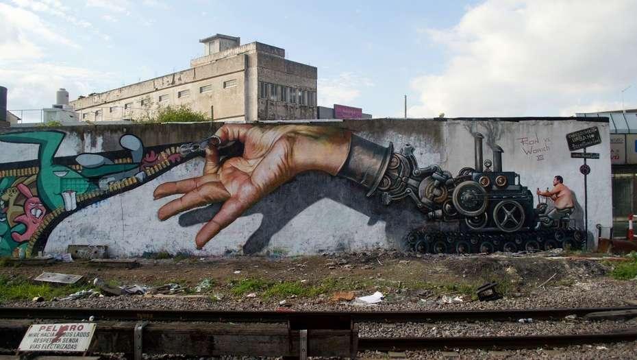 Martin Ron. Arte callejero