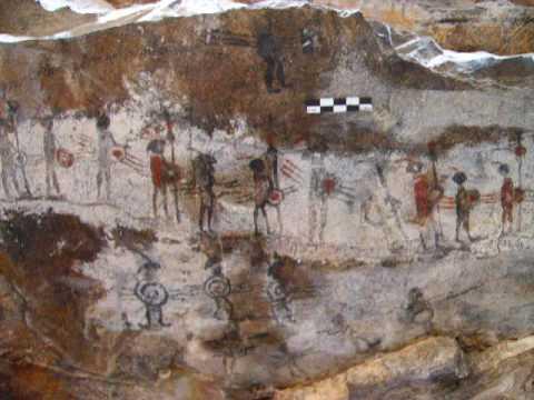 Cueva de música. Arte rupestre.