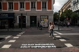Intervención urbana, calles de Madrid.