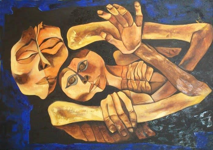 De: Renacer Humano Pintura: Oswaldo Guayasamin