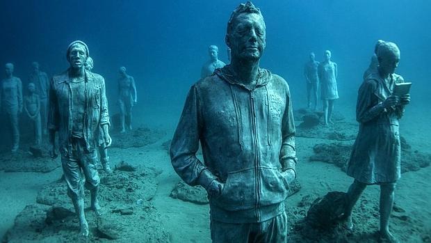Jason deCaires Taylor. Esculturas bajo el agua.