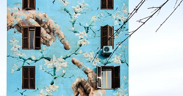 Arte urbano. Broma abraza la magia de los grafitis.