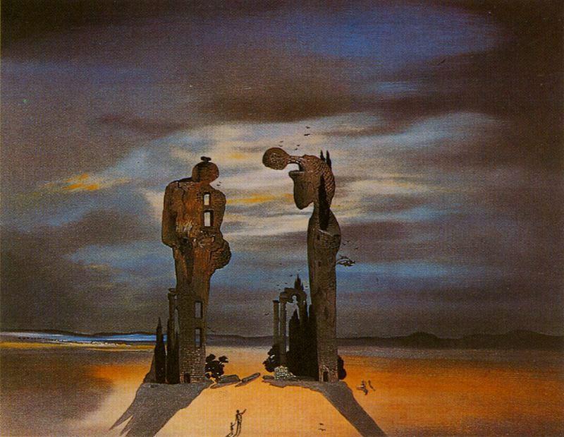 "Salvador Dalí. ""Angelus""."