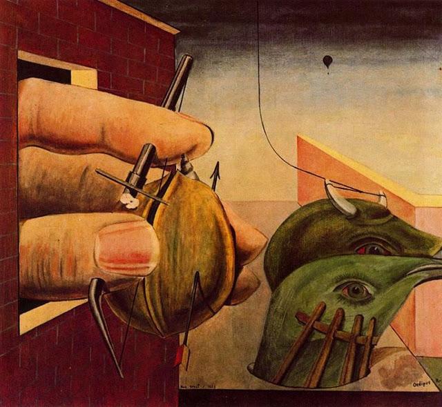 "Max Ernst. ""Edipo rey""."