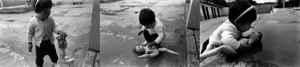 """Cecilia Larrabure. Fotografías del libro """"Ciertos vacíos""""."""