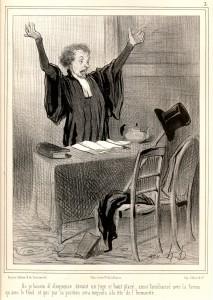 Honoré Daumier, La comedia humana, Nº 3 (litografía)