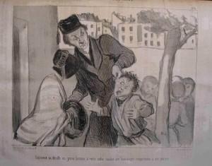 Honoré Daumier, Tirón de orejas