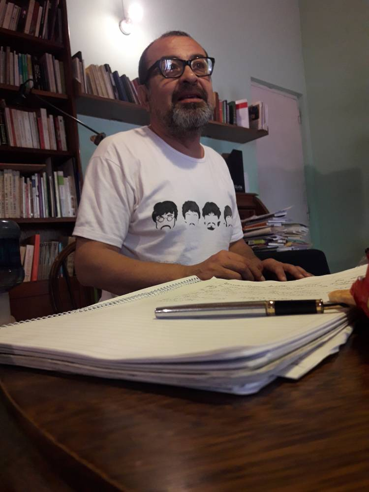 Bernardino Ávila. Fotografía: Rodolfo Rodríguez.