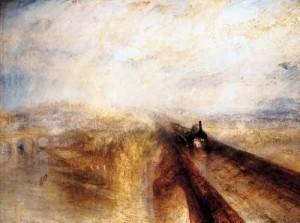 Lluvia vapor y velocidad - J. William Turner