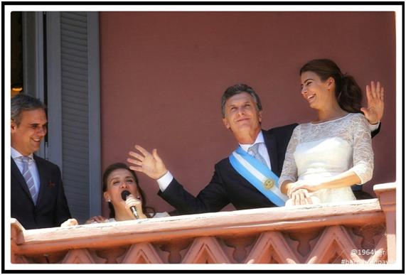 """Bernardino Ávila. """"Mauricio Macri""""."""