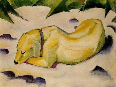 Perro tirado en la nieve versioj2