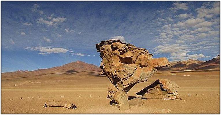 Desierto Salvador Dalí, suroeste de Bolivia.
