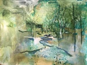 Paisaje con verde - Guillermo Conte