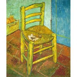 La silla con pipa, Vincent Van Gogh