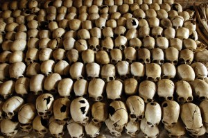 RWANDA-TEN YEARS-GENOCIDE-NYAMATA-GUARDIANS