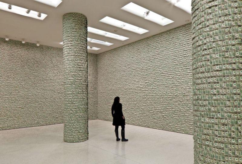 Hans Peter Feldamann, Museo Guggenheim.