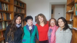 Esther Díaz con Las Anartistas