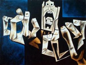 La Edad de la Ira Oswaldo Guayasamín, años 60