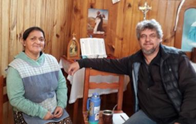 Graciela Salvo y Sergio Lucero.